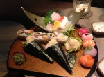 Best Sushi ever at the Sir Albert Boutique Hotel Amsterdam